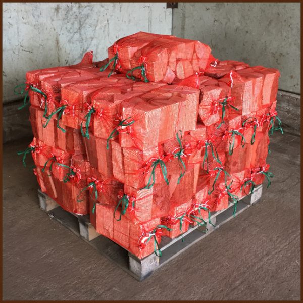 50 bags of ALL FIRED UP quality kiln dried logs on a pallet image 1