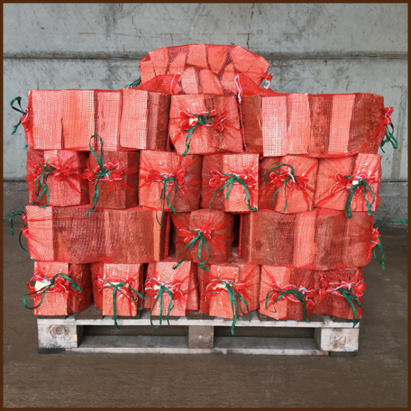 50 bags of ALL FIRED UP quality kiln dried logs on a pallet image 2