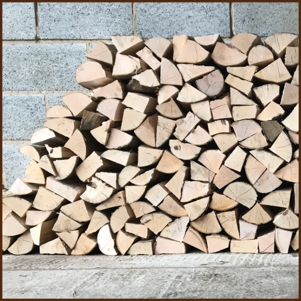 Large dumpy bag of mixed quality kiln logs 10inch from ALL FIRED UP image 5