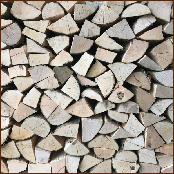 Large dumpy bag of mixed quality kiln logs 10inch from ALL FIRED UP image 6